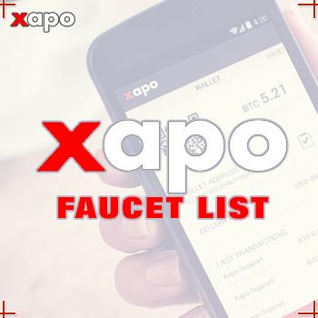 Xapo-Faucet-List
